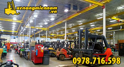 xưởng phụ tùng xe nâng
