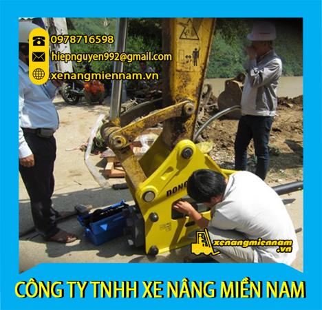 Sửa chữa xe xúc lật Komatsu